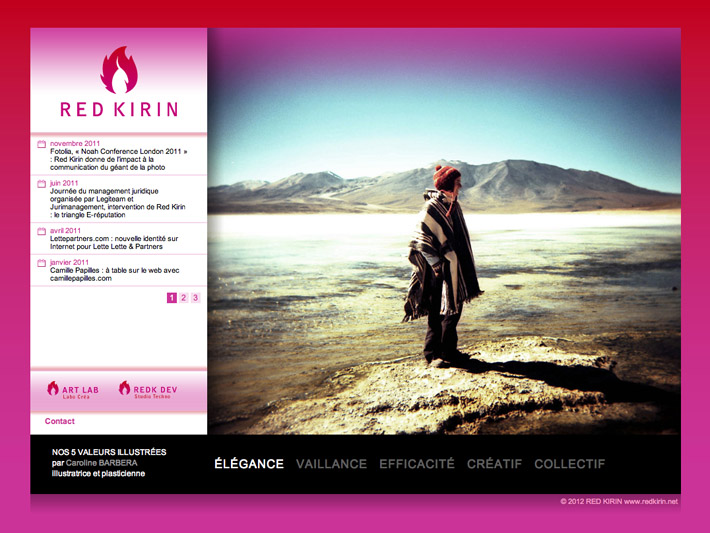home page redkirin.net