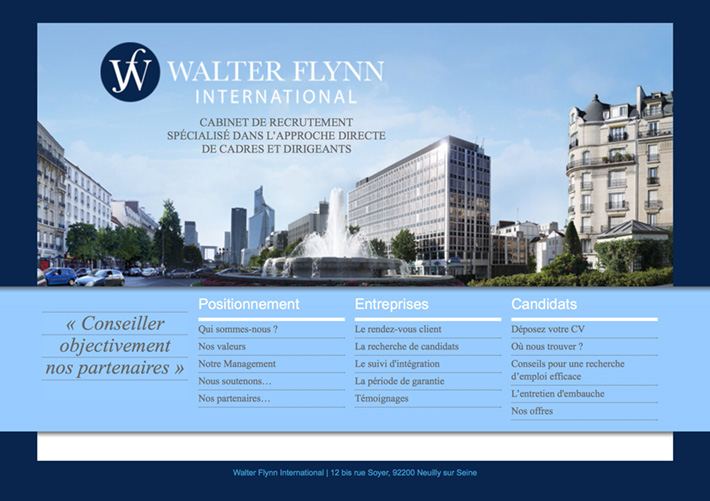 Cabinet de recrutement walter - Cabinet recrutement communication ...